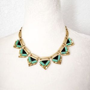 Stella & Dot Turquoise Collar Statement Necklace